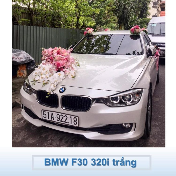 BMW F30 320I TRẮNG