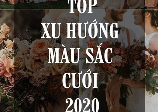 TOP XU HƯỚNG MÀU SẮC CƯỚI NĂM 2020 (6)